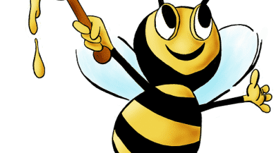 Image of bee to represent Bee Money Savvy