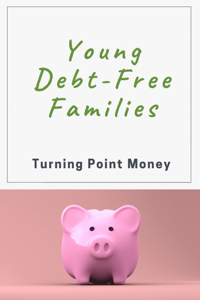 Turning Point Money pinterest image on stock picking showing a piggy bank